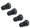 13mm Shock Bushings - Team Associated - Black