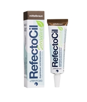 Refectocil Sensitive Med Brown Brow & Lash Tinting Gel
