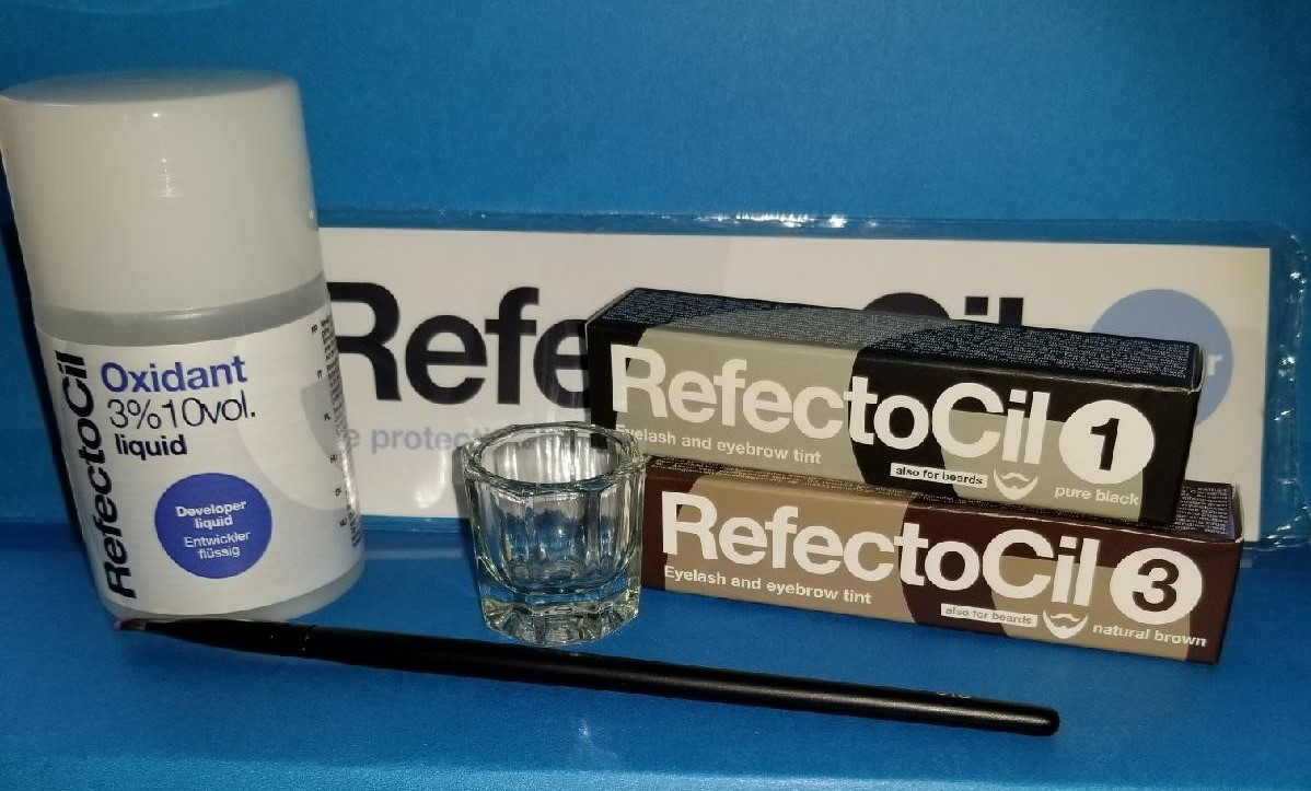 Buy 1 Refectocil Eyelash Eyebrow Tinting Kits With 3 Liquid Peroxide