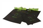 9x12 Frosted Colored Merchandise Bags