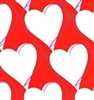 Hearts and Shadows Closeout Gift Wrap