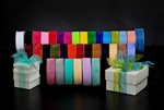 "1-1/2""x100 Sheer Organdy Wholesale Ribbon"