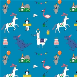 Party Animals Neon Wholesale Packaging Gift Wrap