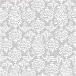 Gray Damask Design