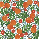 Mandarin Orange Design Gift Wrap