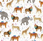 Go Wild Animal Design Wholesale Packaging Gift Wrap