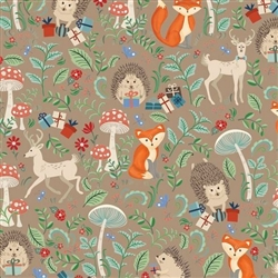 Forest Animals Babies Design