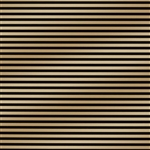Black Metallic Gold Stripe Gift Wrap