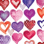 Lovely Lovely Heart Design Gift Wrap