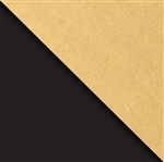 Black And Gold Premium Kraft Reversible Gift Wrap