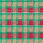 Red Green Plaid Design Wholesale Gift Wrap Special Promo