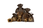 Chocolate Wholesale Non Woven Gift Pouches