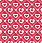 Heart Lattice Gift Wrap