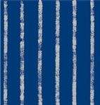 Bands Of Silver Navy Stripes Kraft