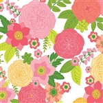 Rose Floral Gift Wrap
