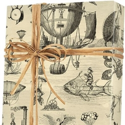 Extraordinary Voyages Gift Wrap