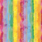 Rainbow Stripe Gift Wrap
