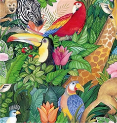 Jungle Paradise Ultra Gloss Gift Wrap