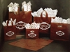 Frosted Espresso Wholesale Poly Shopping Bags
