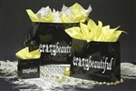 Gloss Black Wholesale Euro Tote Bags