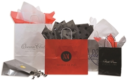 Gloss Crystal Cote Wholesale Shopping Bags