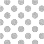 Large Dots Foil Gift Wrap