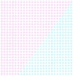 Pink Blue Gingham Reversible Giftwrap