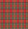 Embossed Plaid Giftwrap
