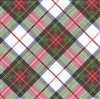 Plaid Embossed Gift Wrap