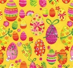 Easter Eggs Gift Wrap