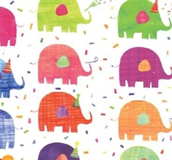 Elephant Party Gift Wrap
