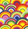 Rainbow Circles Gift Wrap
