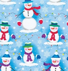 Frosty Lights Christmas Holiday Wholesale Gift Wrap Packaging