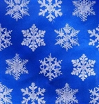 Blue Snowflake Wholesale Gift Wrap Packaging