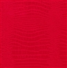 Red Embossed Croc Wholesale Gift Wrap Packaging