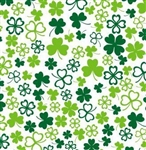 Hearts Of Clover Birthday Gift Wrap