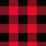 Red Black Buffalo Plaid Wholesale Gift Wrap Packaging