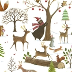 Christmas Woods Animals Wholesale Gift Wrap Packaging