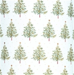Noble Fir Metallized Wholesale Gift Wrap