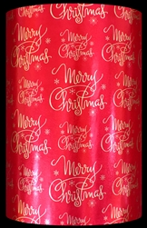 Classic Greetings Metallized Gift Wrap