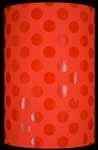 Red Red Dots Velvet Touch Gift Wrap