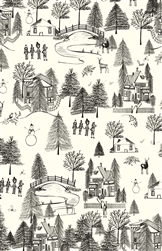 Wintertown Gift Wrap