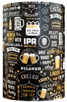 Cheers & Beers Embossed Metallized Gift Wrap