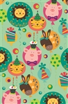 Dandy Lion's Birthday Gift Wrap