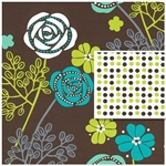 Floral Dots Double Sided Design Wholesale Gift Wrap Special Promo