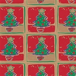 Rockin Trees Gift Wrap