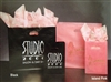 Island Pink Colored Wholesale Frosted Bags