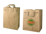 Natural Kraft Paper Wholesale Grocery Bags