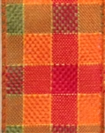 Autumn Plaid Wire-Edge Ribbon