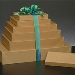 Natural Kraft Groove Wholesale Apparel Boxes